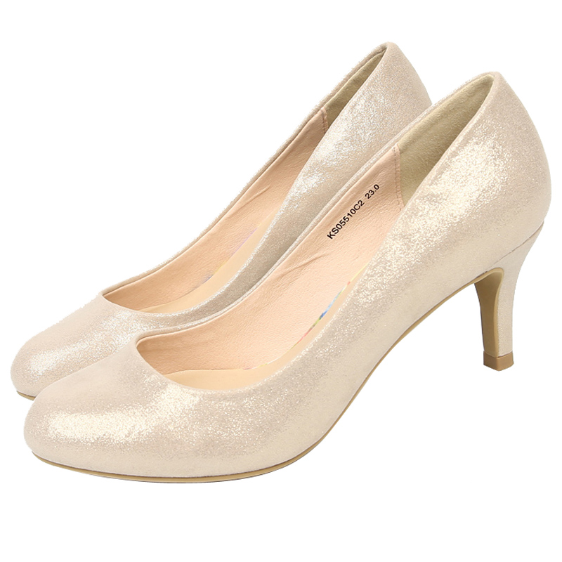 Wedding Shoes Open Bling Pointed Toe Pumps Bridesmaid High Heel Platform Party Formal Shoes Suede High