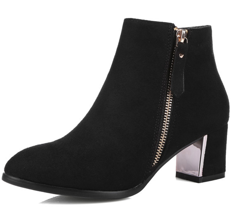 Online Get Cheap Cheap Black Ankle Boots -Aliexpress.com | Alibaba ...