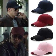 39784eee37264 POP hommes femmes casquette de Baseball blanc plaine solide Snapback balle  de Golf hip-hop chapeau