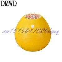 DMWD 220V 3 8W 400ml Aroma Ultrasonic Air Humidifier For Office Bedroom Mute USB Grapefruit Shape