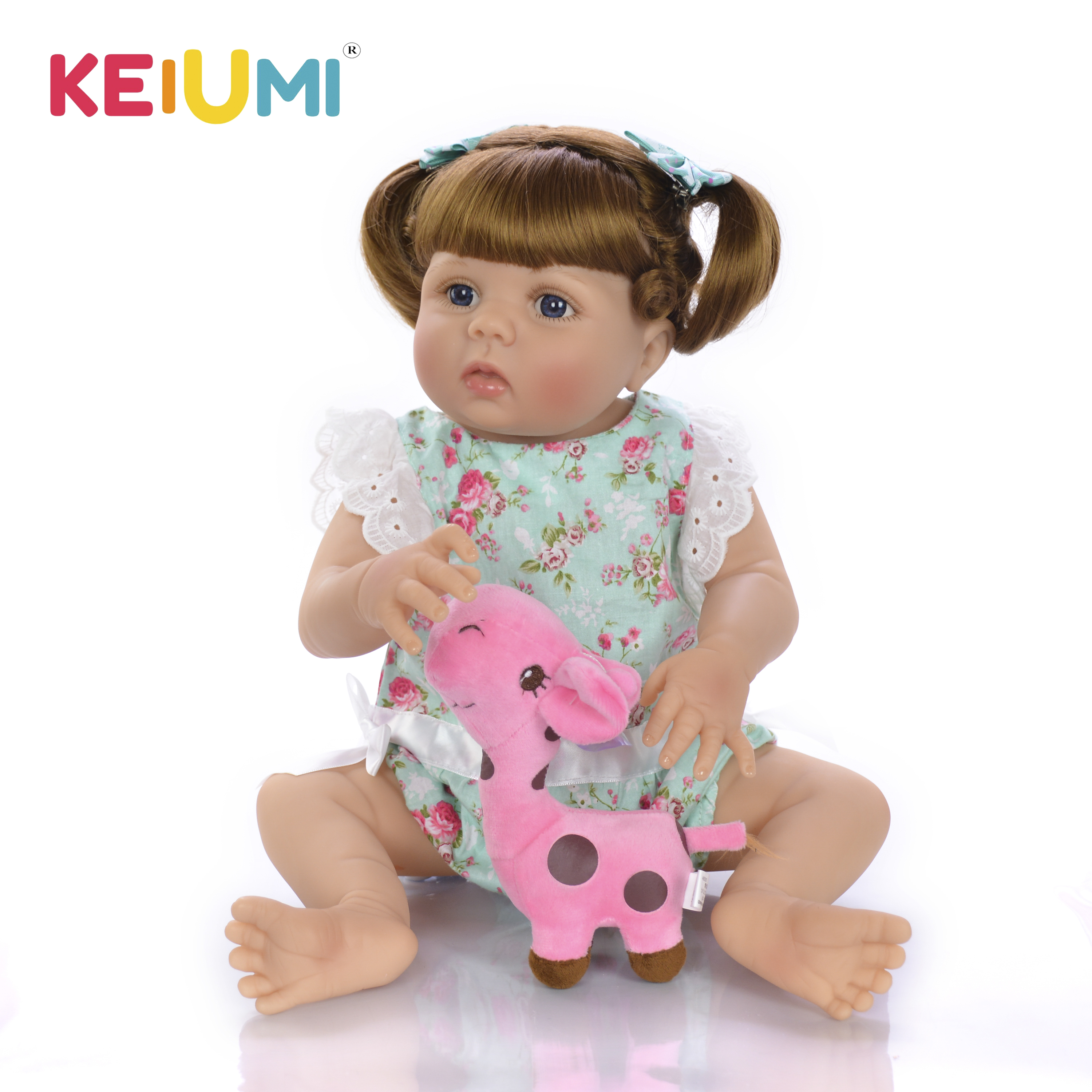 New Style KEIUMI 23 57cm Real Reborn Baby Dolls Adorable Lifelike Toddler doll With Full Silicone Surprise For Christmas GiftsNew Style KEIUMI 23 57cm Real Reborn Baby Dolls Adorable Lifelike Toddler doll With Full Silicone Surprise For Christmas Gifts