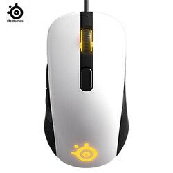 STEELSERIES RIVAL106/Sensei Baku Optik V2 Permainan Mouse Kabel Mouse Cermin RGB Kembali Photoelectric Gaming Mouse untuk Lol Cf