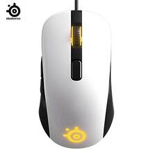 SteelSeries rival 106 mouse da gioco mouse cablato specchio RGB indietro mouse da gioco fotoelettrico per LOL CF