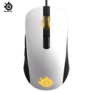 Image 1 - SteelseriesのRIVAL106ゲームマウス有線マウスミラーrgbバック光電ゲーミングマウス笑cf
