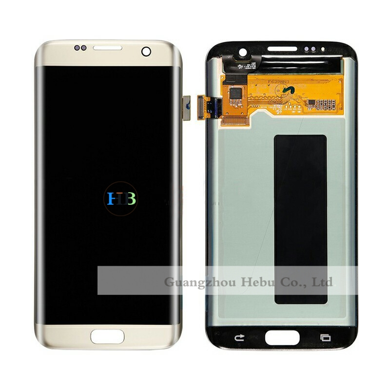 Brand New 30pcs Wholesale Price For Samsung Galaxy S7 Edge G935 G9350 G935F G935FD Lcd Display Touch Screen Free DHL 3 Color brand new 20pcs wholesale price for sony