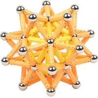 50/100/200pcs Magnet Bars Metal ball Magnetic Designer Building Blocks