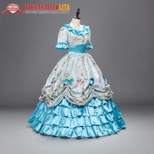 Victorian Southern Belle Civil War Ball Gown Costumes color your own civil war