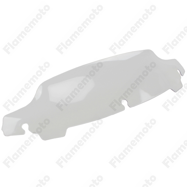 """Motorcycle Parts Clear 4.5"""" Wave Windshield Windscreen For Harley Touring Tri Glide FLHT FLHX 2014 2015 2016"""