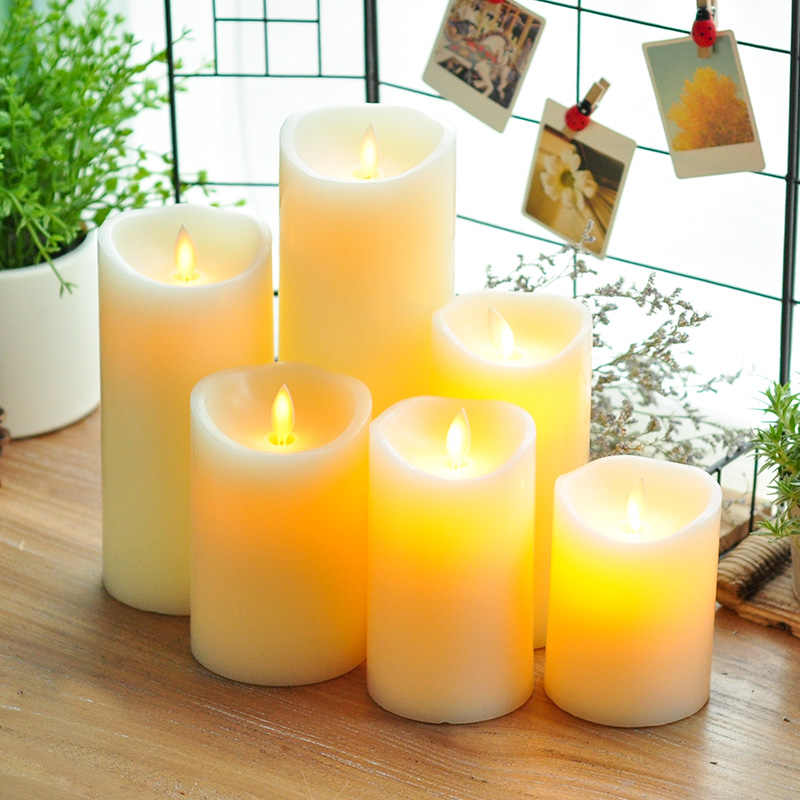 Candles & Holders Home & Garden Liberal 3pcs/lot Remote Control Led Candle Electronic Flameless Candle Lights Simulation Flame Candle Lamps Wedding Decoration Lovely Luster