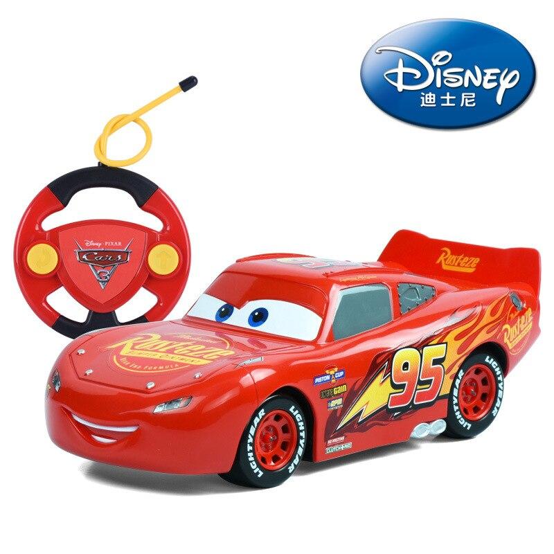 все цены на Big Size 22cm Disney Pixar Cars 3 Remote Control Storm Jackson Lighting McQueen Cruz Ramirez Metal Car Toys Boys Birthdays Gift онлайн