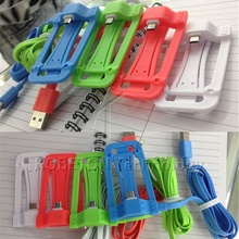 Hot 2 in 1 Phone Holder Micro USB Data Cable Charging Cable Cord with Foldable  Stand for Andriod Smartphone Charger Accessories