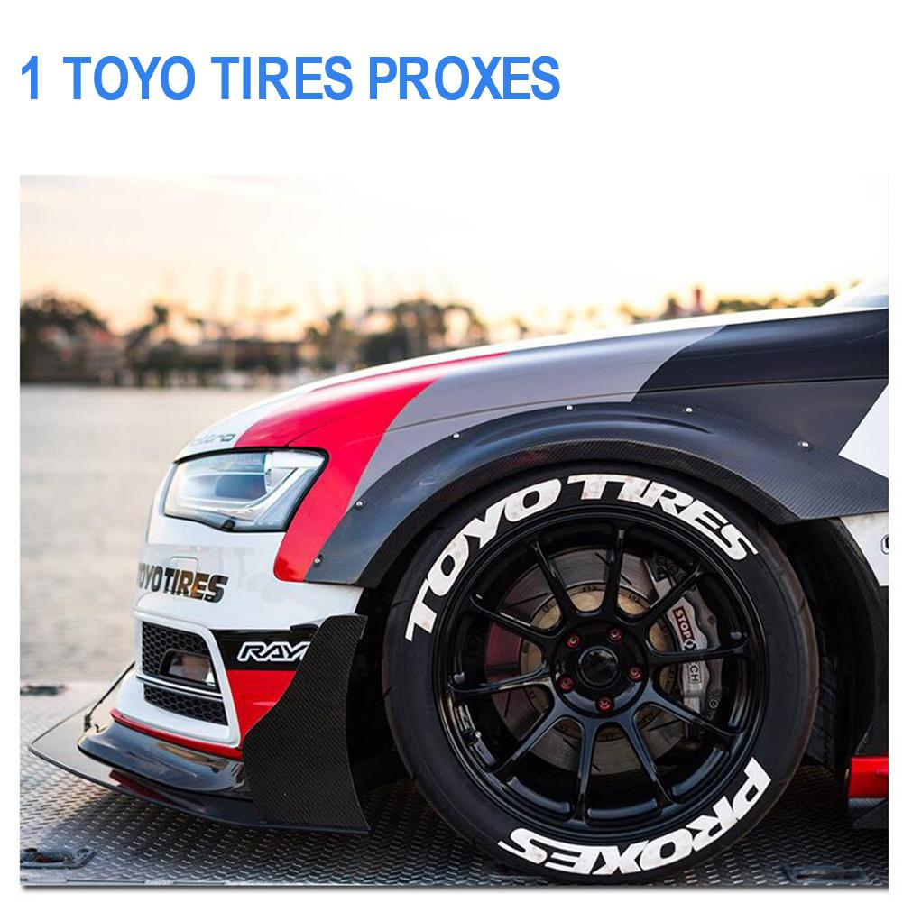 Car Tire Wheel Sticker Car Tuning Universal Auto Motorcycle Tire Stickers Personalized Car Styling Wheel Label With 2 Blades