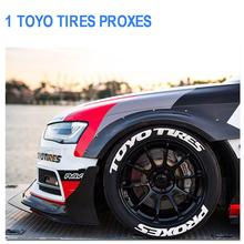 Car Tire Wheel Sticker Tuning Universal Auto Motorcycle Stickers Personalized Styling Label With 2 Blades