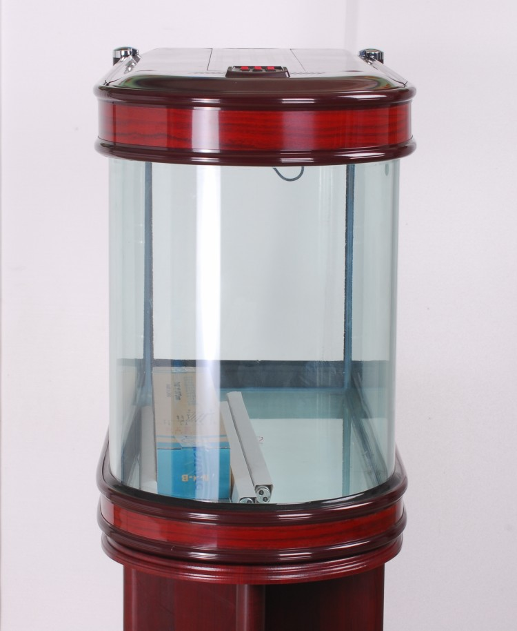 minjiang screen medium fish tank aquarium enclosed u type