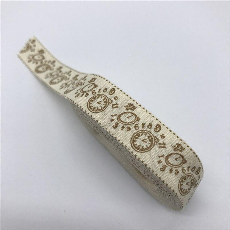 "HTB1kG kEh1YBuNjy1zcq6zNcXXaX 5Yards 15mm Multi Design ""Handmade"" Printed Cotton Lace Ribbon Sewing Fabric Wedding Decoration Gift Wrapping Christmas Ribbon"