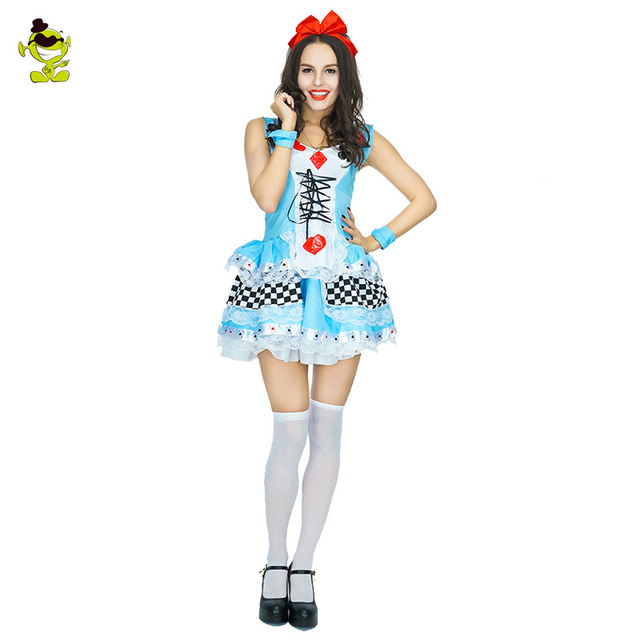 Sexy Alice im Wunderland-Outfit