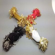 100 шт. 4 вида цветов нейлоновой веревкой используется для бирки, бирка строка с pin