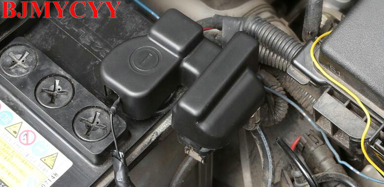 Toyota Corolla Battery >> Us 10 99 50 Off Bjmycyy Car Styling Waterproof And Antirust Of Automobile Battery Negative Electrode Protection Cover For Toyota Corolla In Interior