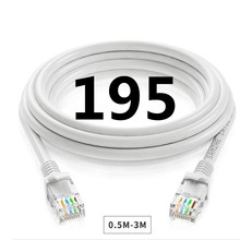 A195 Cat 6 Ethernet Cable Plate With Cable Clips Cable, High Speed Internet, Computer Lan Rj45 Connectors With A Smooth Wire