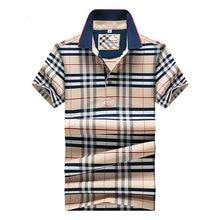 2016 hohe qualität heißer verkauf neue ankunft kurzen ärmeln dünne einfarbig anti-shrink baumwolle sommer casual männer plaid polo hemd