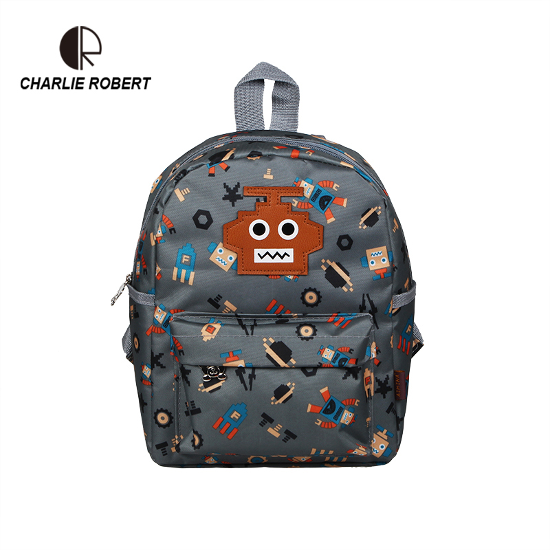 Toddler Robot Backpack For Boys School Backpack For 1-3 Years Kids Cute Cartoon Robot Children Backpack japanese silicone sex dolls robots anime full size oral love doll realistic adult for men big breast ass sexy vagina real pussy