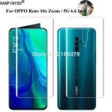 """For OPPO Reno 10x Zoom 5G 6.6"""" Soft TPU Front Back Full Cover Screen Protector Transparent Protective Film +Tools (Not Glass)"""