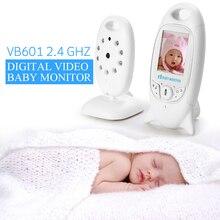 Infantil 2.4 GHz Wireles Bebé Niñera de Radio Digital Video Baby Monitor de La Visión Nocturna Audio Música Radio Pantalla de Temperatura Niñera