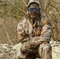 Impermeável e respirável folhas mortas camuflagem Biônico pesca caça 3D Ghillie Suit Snipper roupas jaqueta Militar Tático