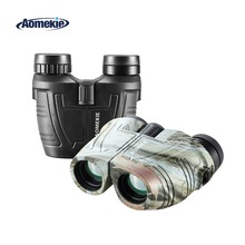 Compact Porro Prism 12X25 Binoculars Cool Camo Hunting Telescope High Power Optical Glass Multi-coated Lens Bird Watching Gift