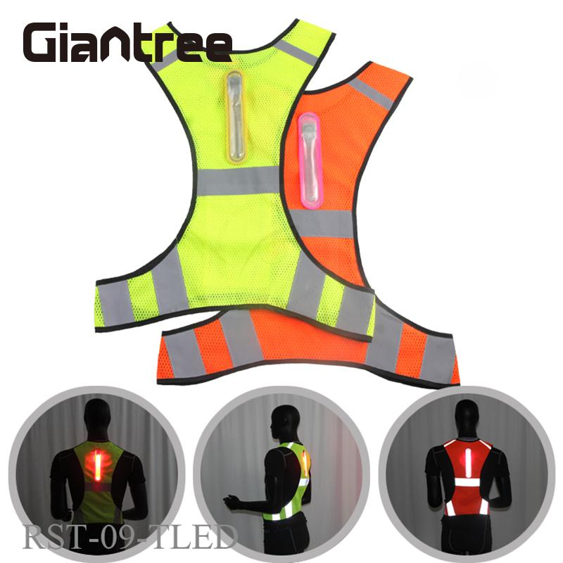 Outdoor Working Clothes Unisex Running Reflective Sport Vest Polyester Fiber Outdoor LED Jacket MotorcycleOutdoor Working Clothes Unisex Running Reflective Sport Vest Polyester Fiber Outdoor LED Jacket Motorcycle