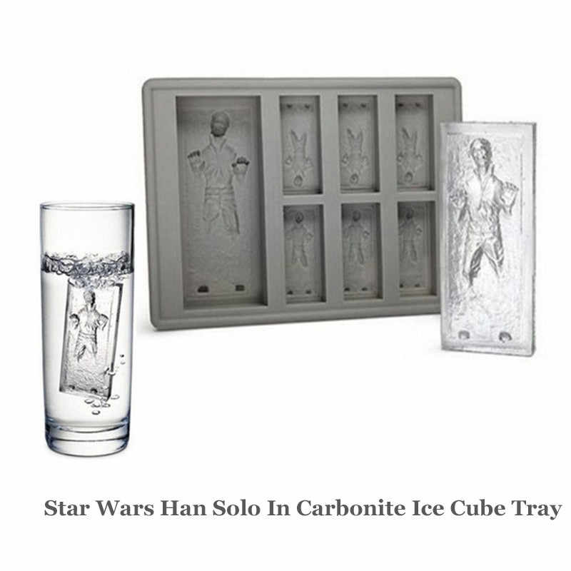 Star Wars Han Solo In Carbonite Silikon Eisform Mini Eiswürfelschale Lustige Party Drink Eis Neue Tricks Maker