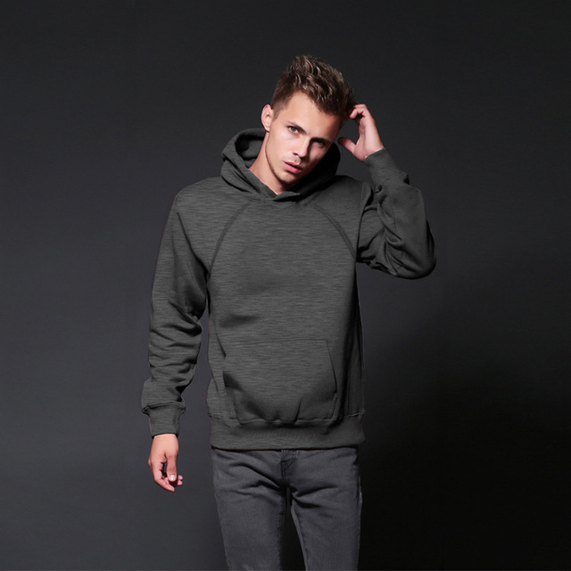 Autumn Men Cotton Jerseys Hoodies sweatshirts Casual Pullover Male Slim Fit Long Sleeve Winter Stylish Black Clothing