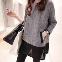 Women Tops And Blouses 2017 New Fashion Plus Size Women Clothing O Neck Long Sleeve Linen