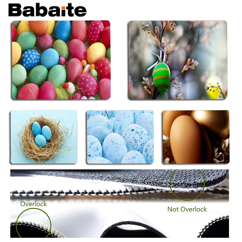 Babaite New Printed Computer Gaming Mousemats Size for 180x220x2mm and 250x290x2mm Small Mousepad