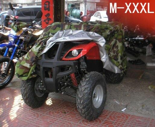 Camouflage ATV ATC Cover Motorcycle Quad bike Universal PU WaterProof Heatproof Size M-XXXL Available quad bike atv cover black waterproof four wheeler storage cover size l xxl xxxl
