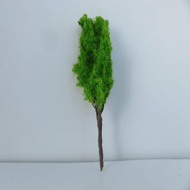 wholesale 8CM wire Model Trees For Railroad House Park Street Layout Green landscape Scene Scenery