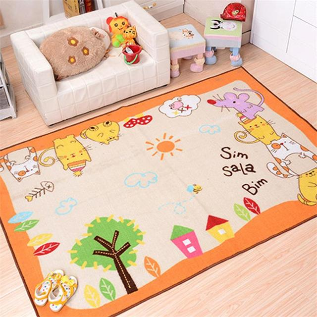 133x190cm Cartoon Rugs And Carpets For Home Living Room Kids Bedroom