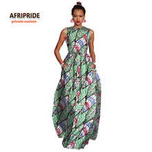 2017African style elegant dresses for women bazin riche femme clothing high quality for fashion lady plus size A722509