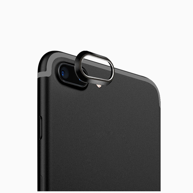Metal Rear Camera Lens Ring Guard Cover Protector Bumper Case Protect for iPhone 7 8 Plus X Gadgets Pakistan