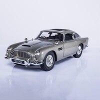 1:18 Масштаб модели автомобилей 2 4 года Джеймс Бонд 007 автомобиля Коллекционирование Aston Matin DB5 Diecasts игрушечных автомобилей Конструкторы для п