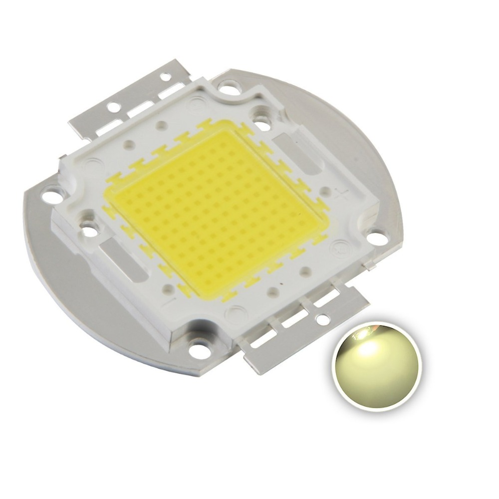 High Power LED chip SMD 6000 6500K 1W 3W 5W 10W 20W 30W 50W 100W Beads Diode led chip white in Light Beads from Lights Lighting