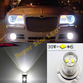 Par Branco H10 9140 9145 CREE Chips de LED de Alta Potência Nevoeiro luz DRL Lâmpada Para Chrysler 300 C Sebring PT Dodge Magnum Cruiser
