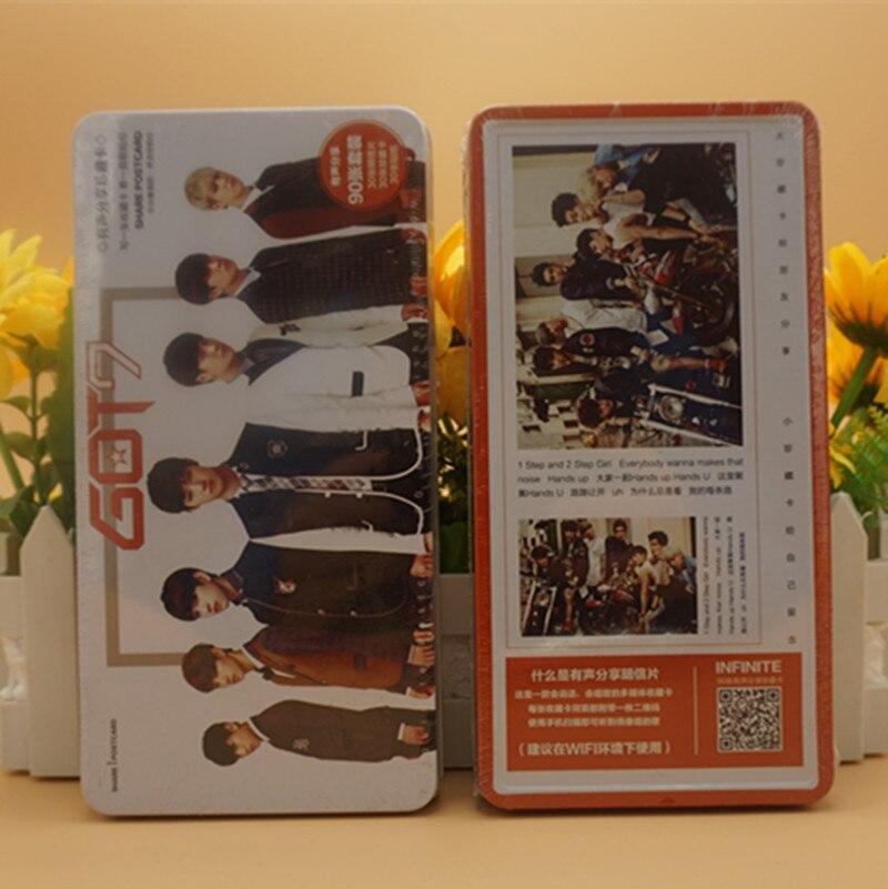 [TOOL]Tin GOT7 photo album postcards, a box of 90 pcs stars surrounding the wholesale #0248 daikin ftxb 25 c rxb 25 c