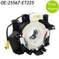 New Airbag Spiral Cable Clock Spring B85567JG49B B5567-JG49D 25567-ET225 B5567JG49D 25567ET225 B5567 JG49D 25567 ET225 Genuine