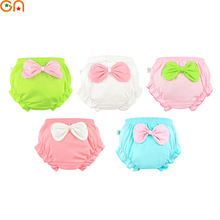 Kids 100% Cotton Underwear Panties Girls Baby Infant Cute Big Bow shorts For Children fashion High-quality Underpants gifts CN