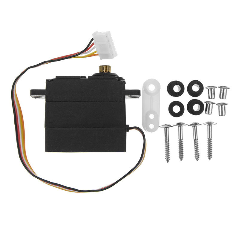 Feiyue SG-S5 19G 5 Wire Servo With Metal Gear For Feiyue 1/12 1/16 SUBOTECH 1/12 RC Car Spare Parts Replacement jx pdi 5521mg 20kg high torque metal gear digital servo for rc model
