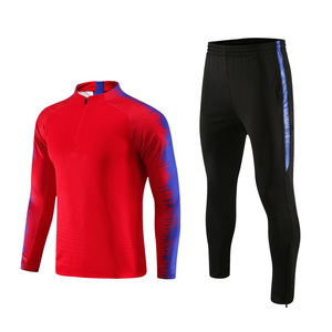 Image 4 - Erkek sonbahar kış erkek futbol eşofman uzun kollu ceket futbol forması koşu futbol eğitimi takım elbise oyuncular spor