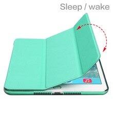 Высокое качество чехол для планшета для Apple iPad Mini 1 2 3 Цвет PU смарт-чехол Магнит Пробуждение сна для iPad чехол