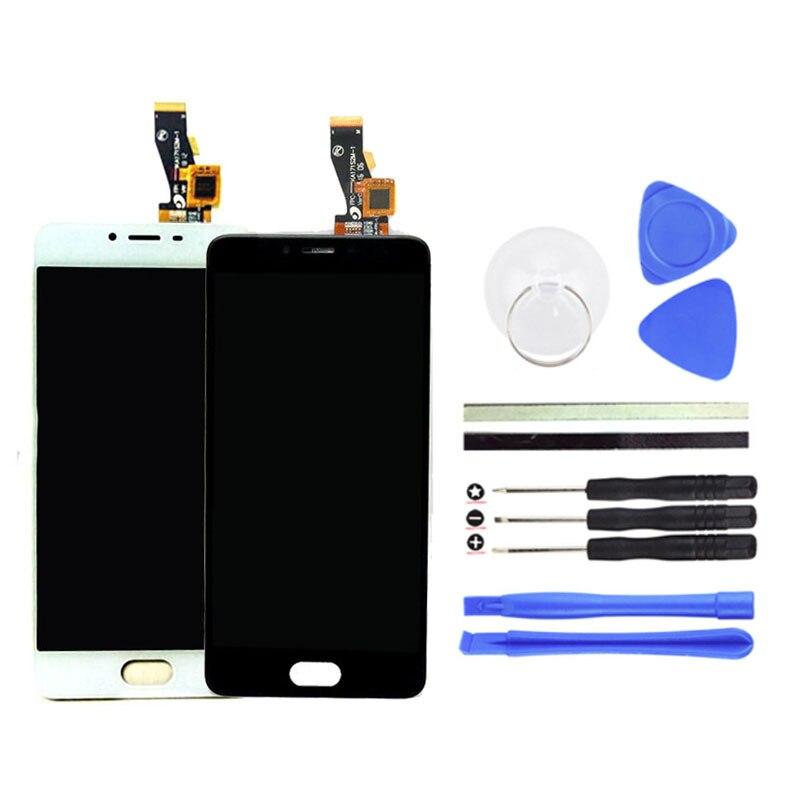 imágenes para 5 pulgadas para meizu m3s mini lcd pantalla + digitalizador touch screen replacement meilan m3s mini teléfono celular accesorios + herramientas