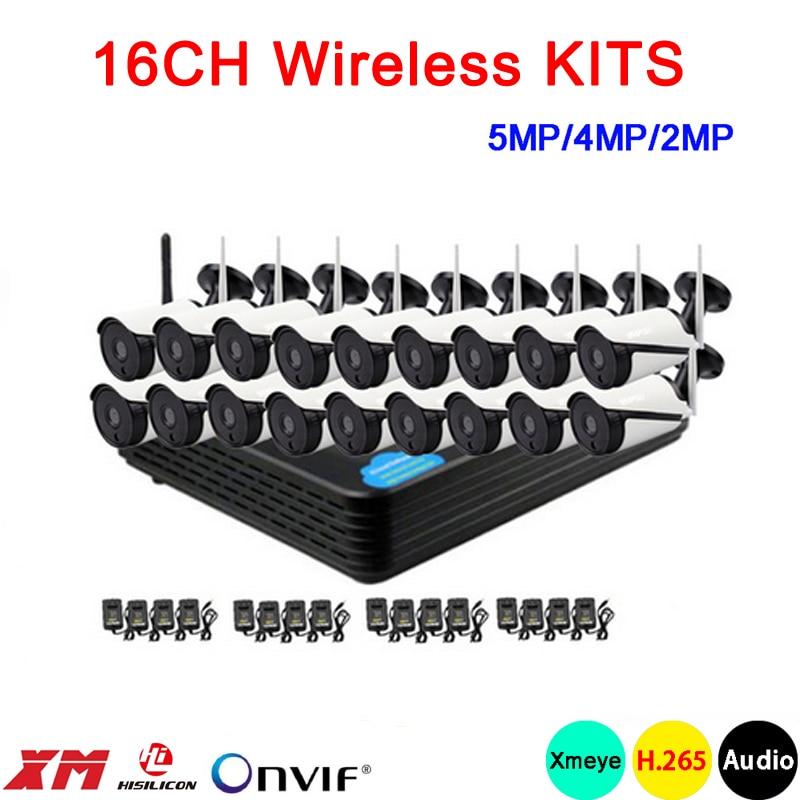 ₪5mp/4mp/2mp White 36pcs Infrared ICsee APP Waterproof H 265